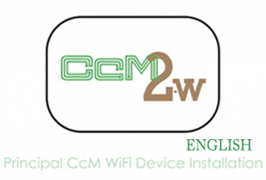 Vídeo Tutorial CcM Principal Wifi Device Installation English