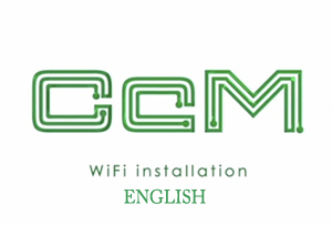 Vídeo Tutorial CcM Wifi Installation English